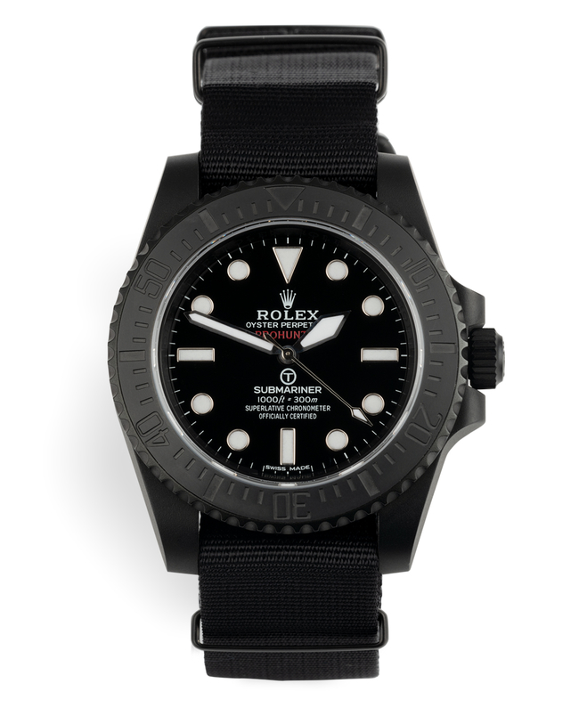 ref 114060 | One of 100 'Limited Edition' | Pro Hunter Submariner Military
