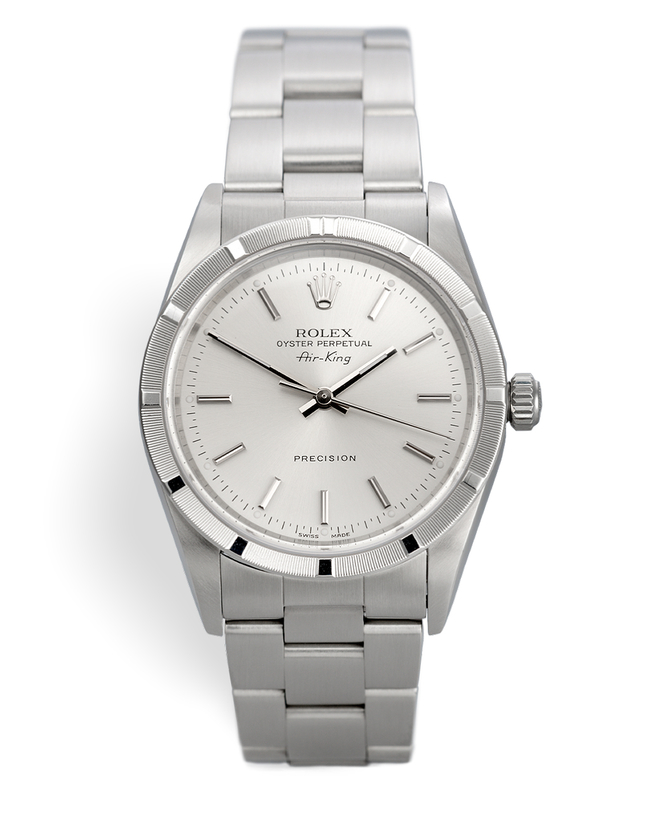 ref 14010M | 'Box & Certificate' UK Supplied | Rolex Air-King