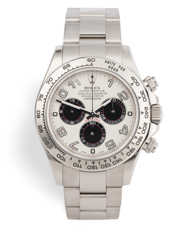 ref 116509 | '3 Colour Panda' Box and Papers | Rolex Cosmograph Daytona