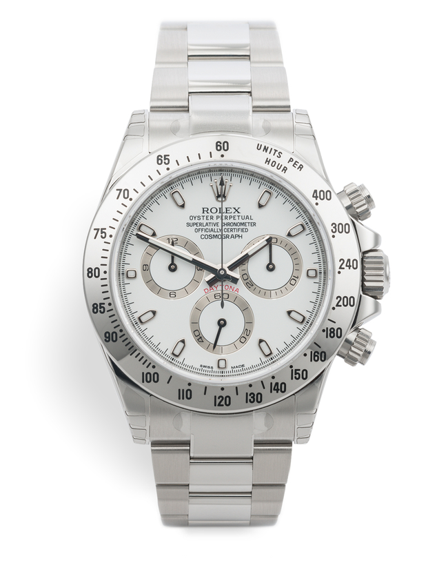 ref 116520 | Brand New Chromalight Model | Rolex Cosmograph Daytona