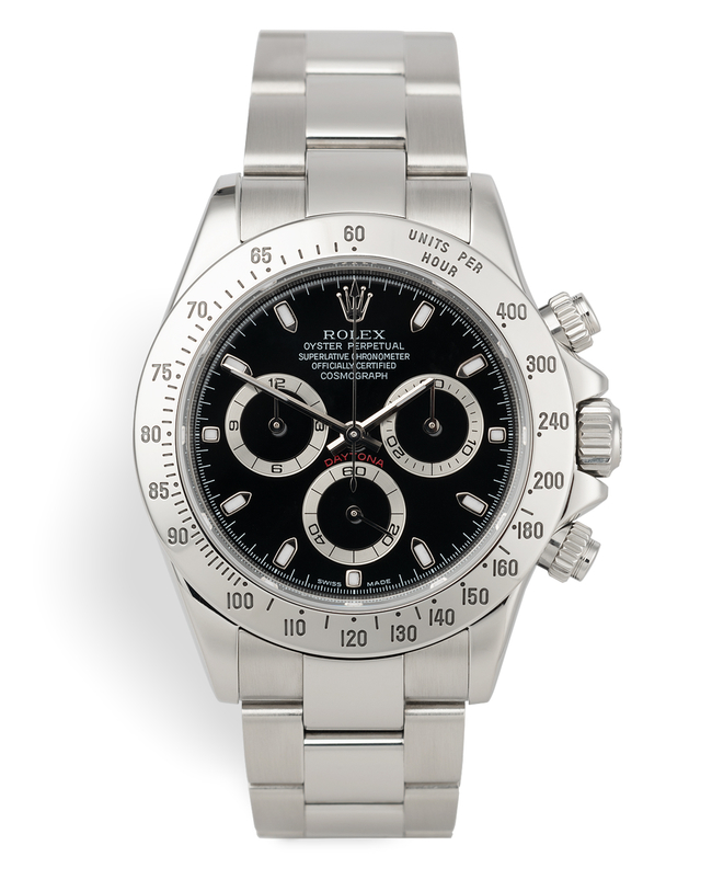 ref 116520 | Early 'Thin Hands' Model | Rolex Cosmograph Daytona