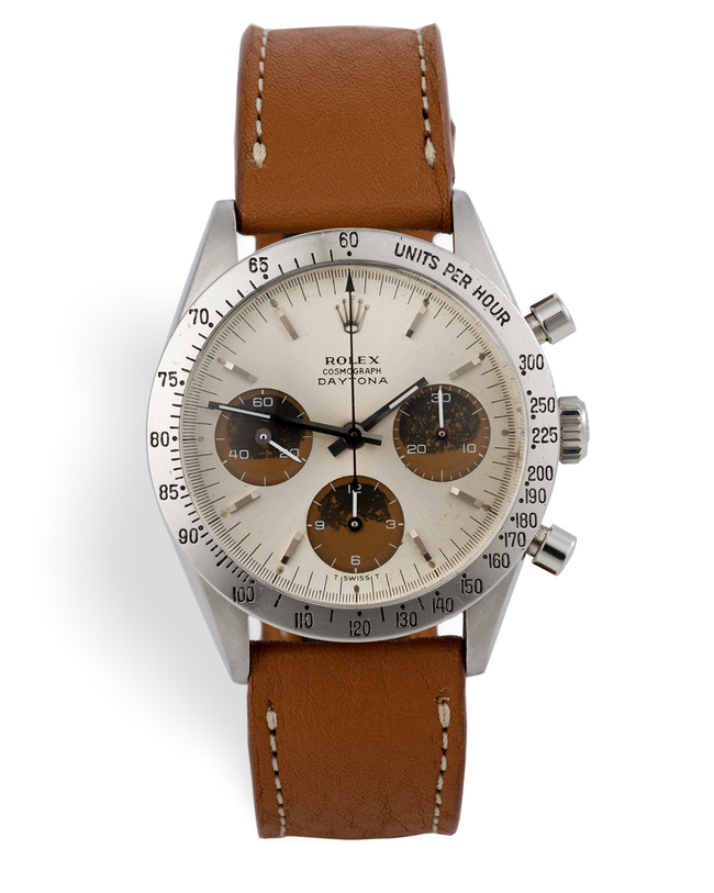ref 6239 | 'Brown Compax' Original Papers | Rolex Cosmograph Daytona