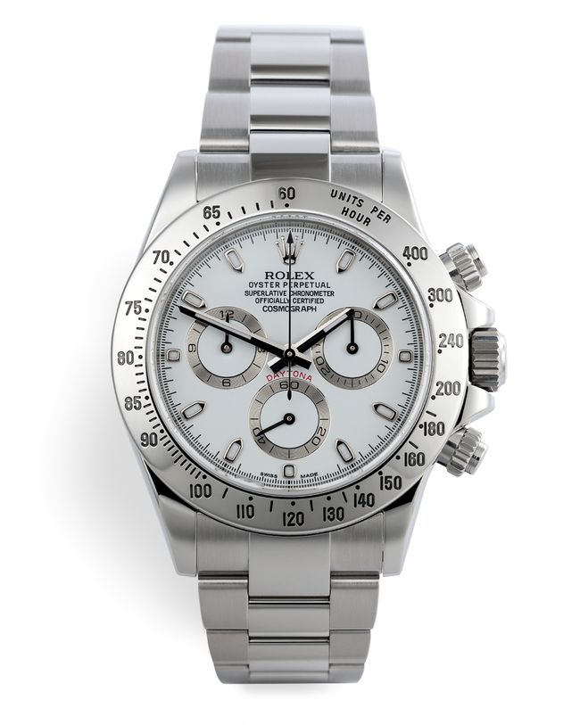 ref 116520 | 'Final Series' Rolex Warranty to 2021 | Rolex Cosmograph Daytona
