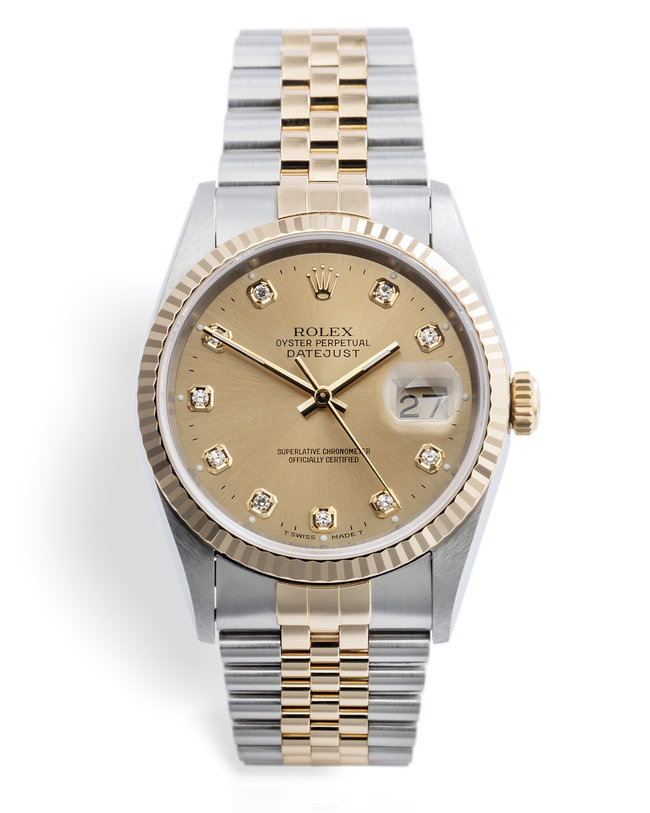 ref 16233 | 'Like New' Box & Cert | Rolex Datejust