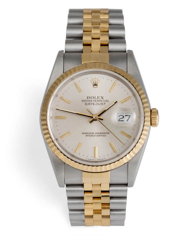 ref 16233 | 'Never Polished' | Rolex Datejust
