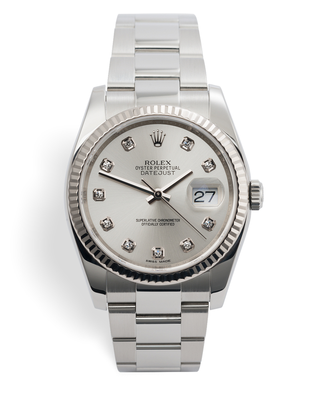 ref 116234 | 'Rolex 5 Year Warranty' | Rolex Datejust