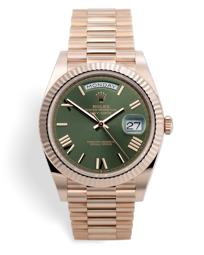 ref 228235 | Everose Gold 'Rolex Warranty' | Rolex Day-Date