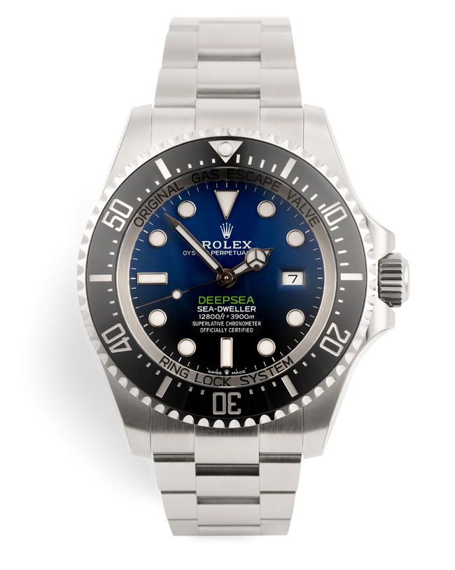 ref 126660 | Brand New Latest 'James Cameron' | Rolex Deepsea D-Blue