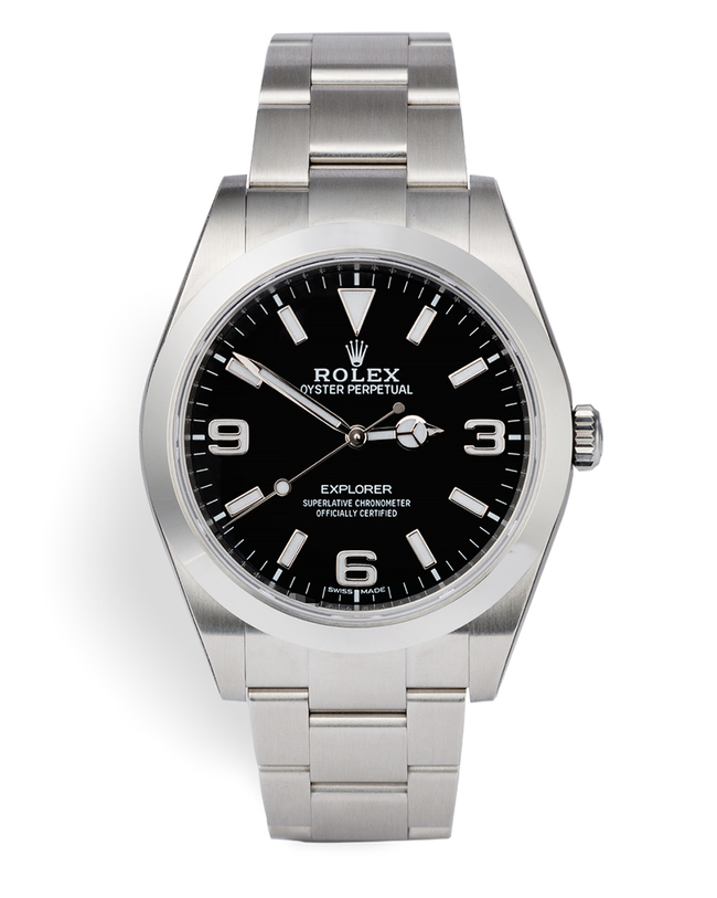 ref 214270 | 5 Year Rolex Warranty | Rolex Explorer