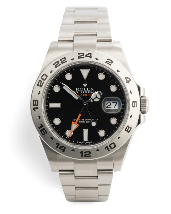 ref 216570 | Rolex Warranty to 2023 | Rolex Explorer II