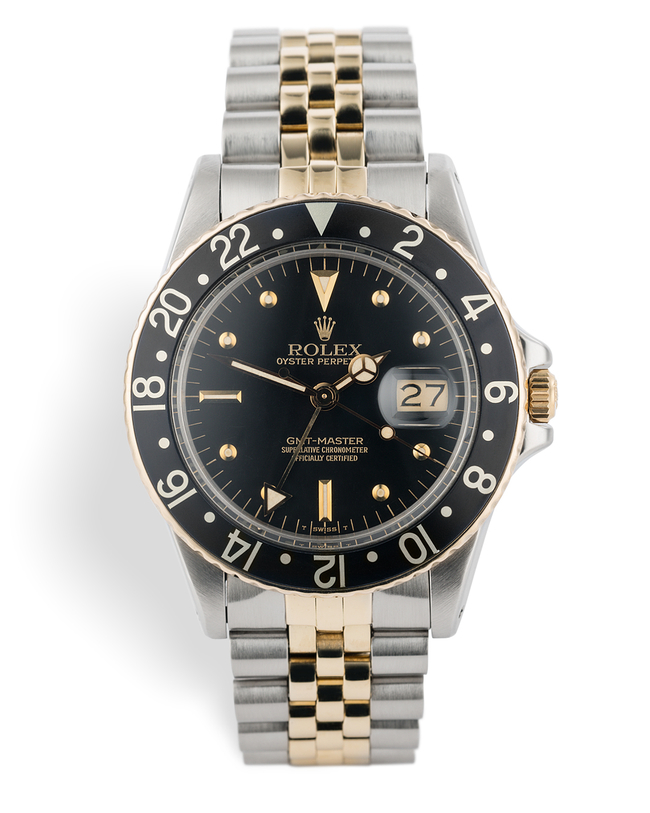 ref 16753 | Gold & Steel 'Nipple Dial' | Rolex GMT-Master