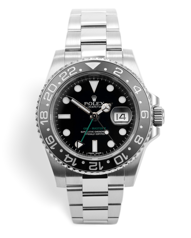 ref 116710LN | 'Full Set' UK Retailed | Rolex GMT-Master II
