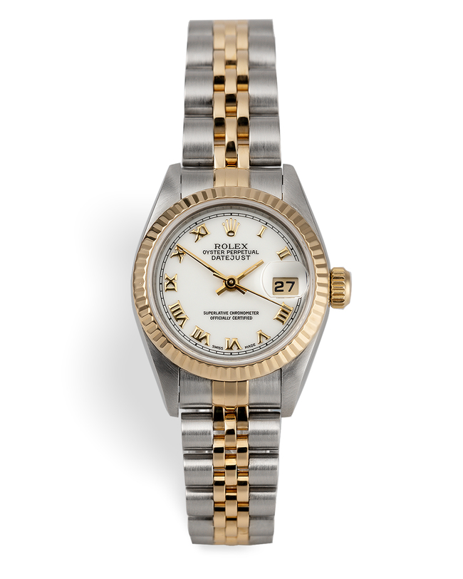 ref 69173 | Gold & Steel 'Box & Certificate' | Rolex Lady-Datejust
