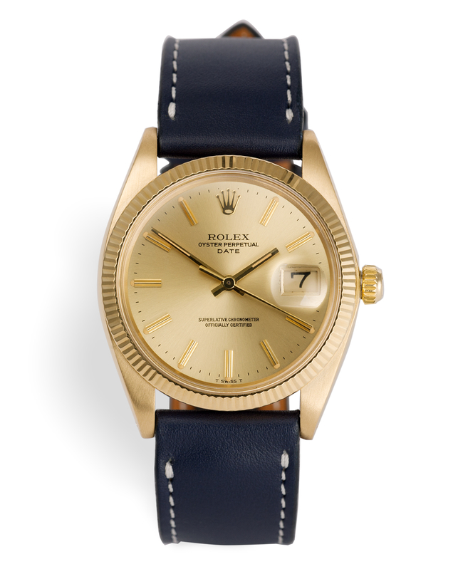 ref 1503 | Vintage 'Millerighe Bezel' | Rolex Oyster Perpetual Date