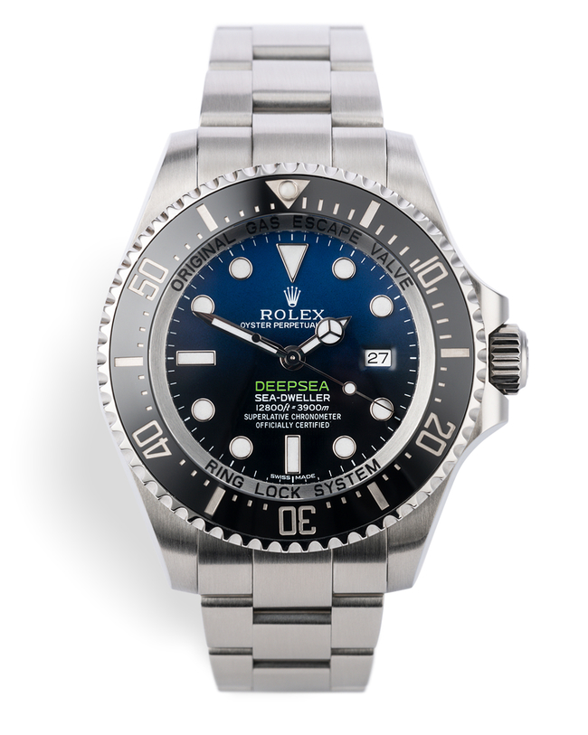 ref 116660 | 'Complete Set' James Cameron | Rolex Sea-Dweller Deepsea