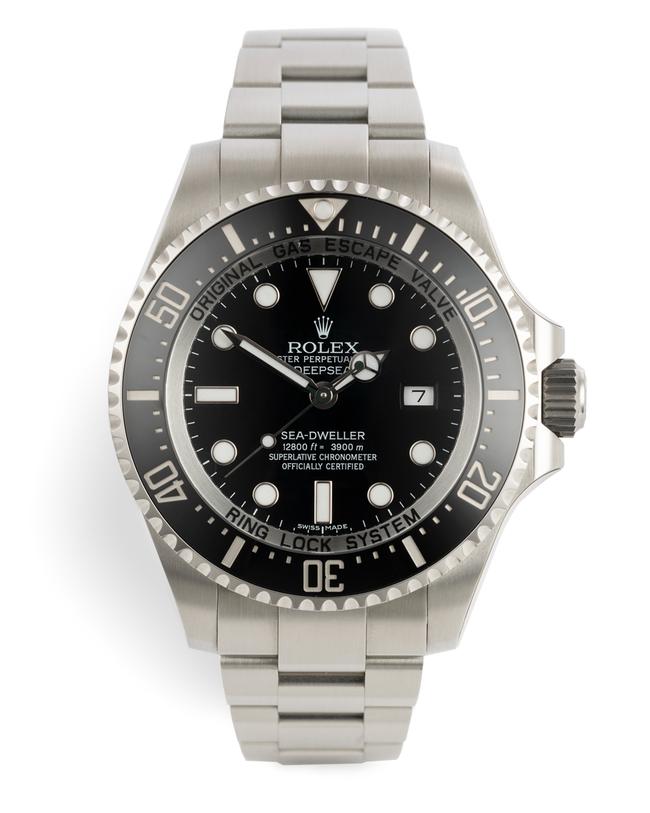 ref 116660 | 5 Year Rolex Warranty | Rolex Sea-Dweller Deepsea