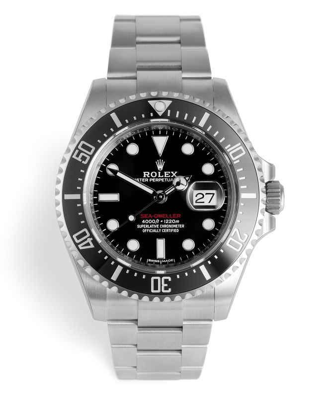 ref 126600 | Red Writing 'Brand New'  | Rolex Sea-Dweller