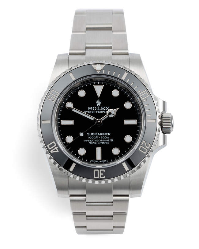 ref 114060 | 5 Year Rolex Warranty  | Rolex Submariner