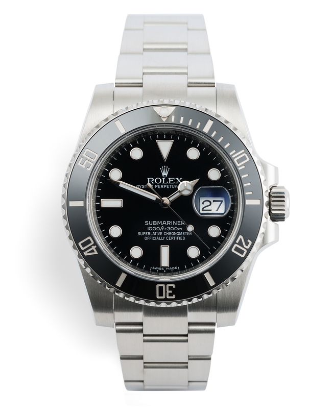 ref 116610LN | 5 Year Rolex Warranty | Rolex Submariner Date
