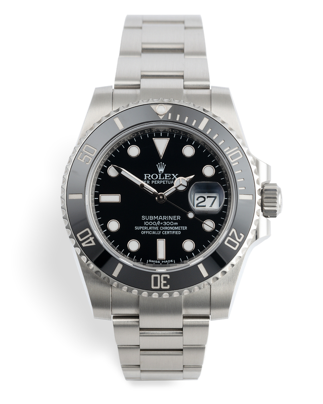 ref 116610LN | 'Cerachrom' Full Set | Rolex Submariner Date