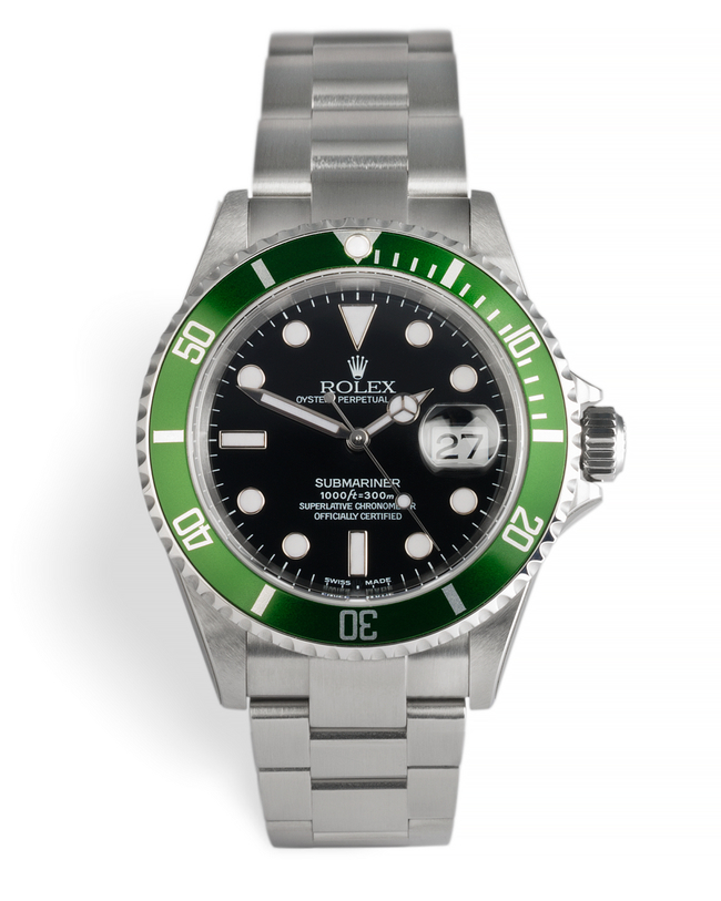 ref 16610LV | New Old Stock 'F2 Serial' | Rolex Submariner Date