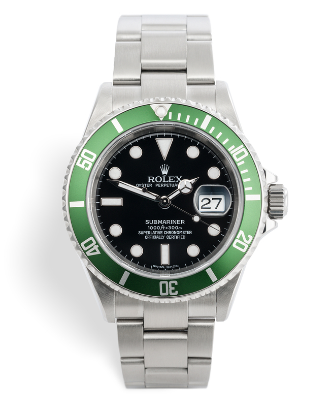 ref 16610LV | Full Set 'Anniversary' | Rolex Submariner Date
