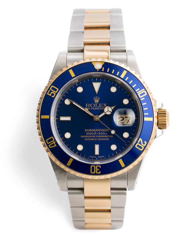 ref 16613 | Full Set 'Never Polished' | Rolex Submariner Date