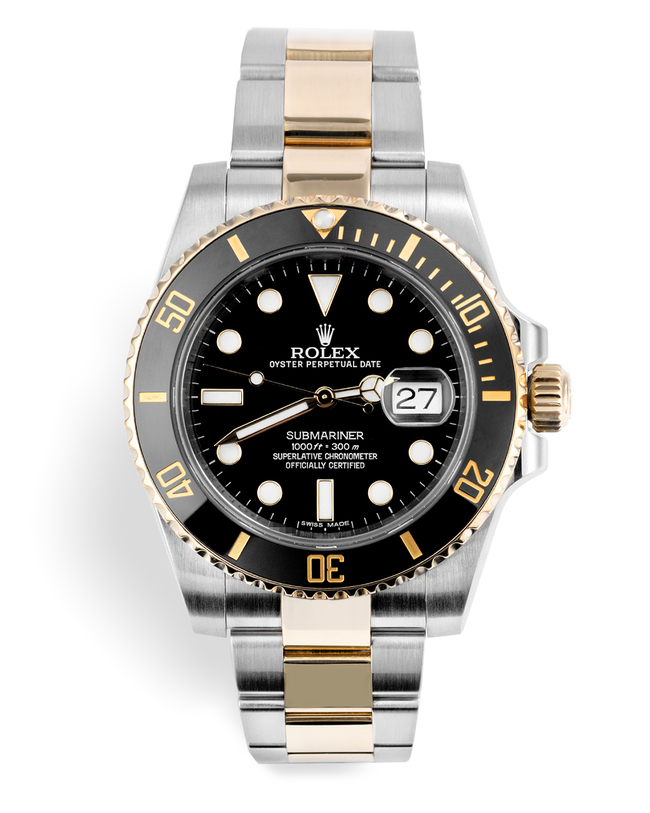 ref 116613LN | Gold & Steel 'Complete Set' | Rolex Submariner Date