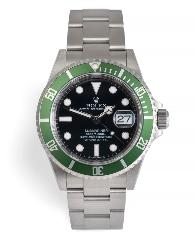 ref 16610LV | 'The Final Kermit' 50th Anniversary | Rolex Submariner Date