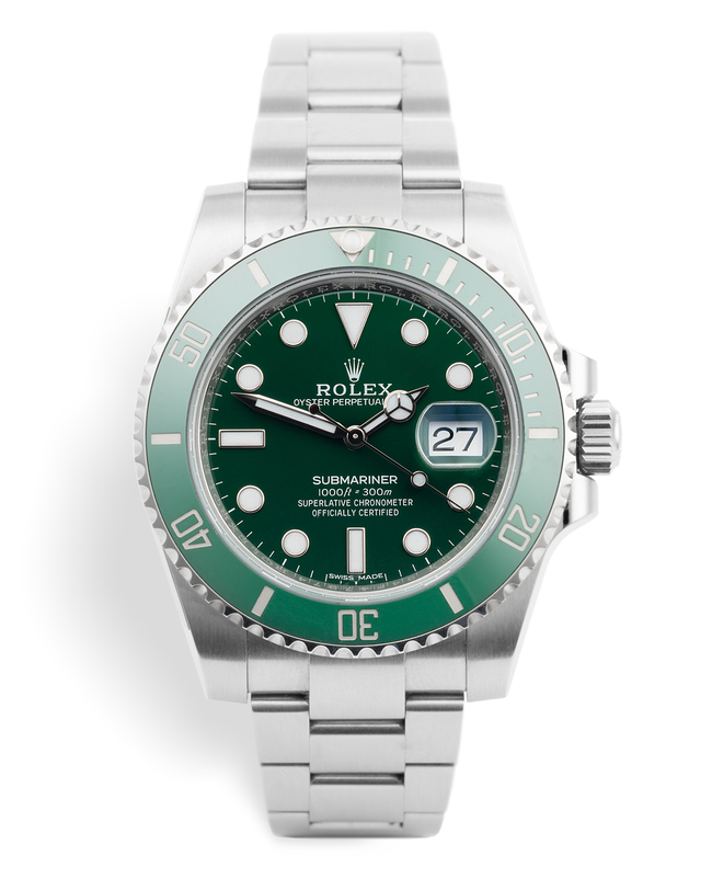 ref 116610LV | Rolex Warranty to 2022 | Rolex Submariner Date