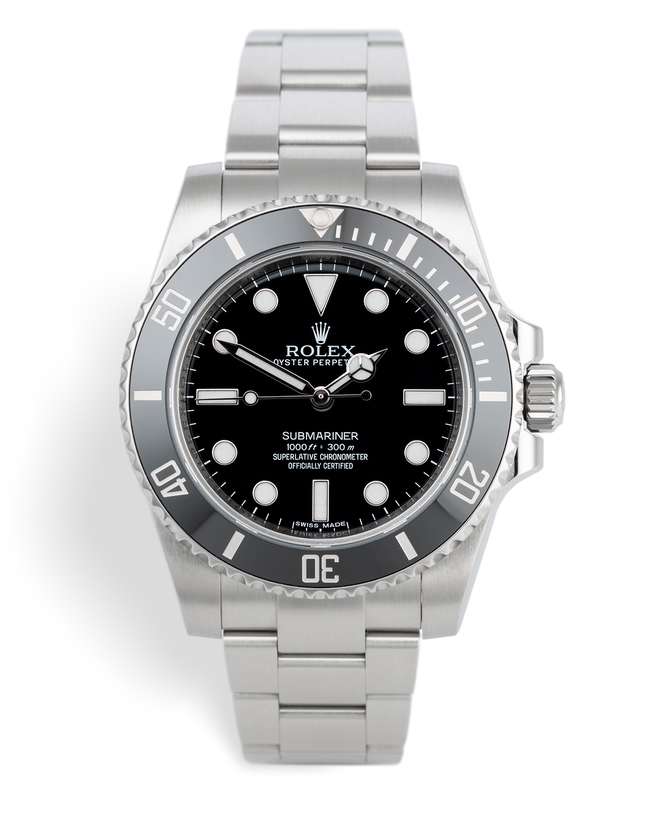 ref 114060 | Latest Cerachrom Model | Rolex Submariner