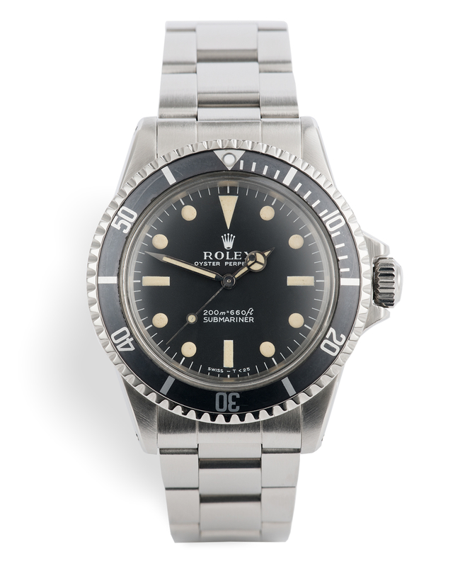ref 5513 | Matte Dial 'Ivory Patina' | Rolex Submariner