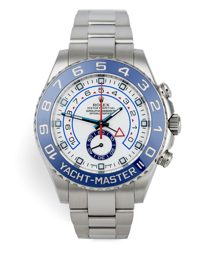 ref 116680 | Under Rolex 5 Year Warranty | Rolex Yacht-Master II